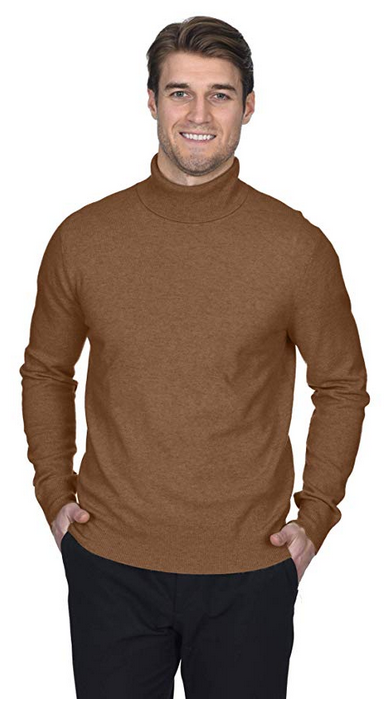 State Fusio Men s Cashmere Wool Turtleneck Long Sleeve Pullover Sweater  Premium Quality 268429eba