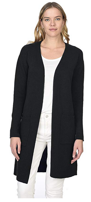 83fa209253f State Cashmere Women s 100% Pure Cashmere Open Front Long Cardigan
